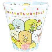 【プラカップ】すみっコぐらし Wプリント メラミンカップ/おつかい
