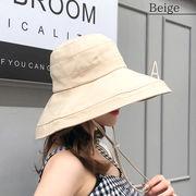 【即納】19ss-053【2019春夏新作】ハット 帽子折り畳み 紫外線対策 日よけ【メール便可】