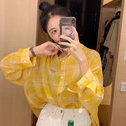 夏 新しいデザイン 韓国風 ? 雅 風 長袖 日焼け防止衣類  何でも似合う 着やせ ト