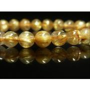 極上 一点物 タイチンルチル ブレスレット 金針水晶数珠 8ミリ PTR26 キャッツアイ パワーストーン