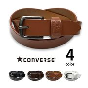 全4色 converse コンバース リアルレザーシンプルベルト レディース メンズ 男女兼用