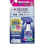 トップ NANOX 衣類・布製品の除菌・消臭スプレー 詰替え 320ml 【 ライオン 】 【 スプレー 】