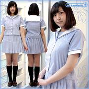 1141B★MB■送料無料■山陽女子高等学校 旧夏制服 サイズ:M/BIG