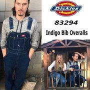 【DICKIES】(ディッキーズ) USA企画 Indigo Bib Overalls / デニム オーバーオール