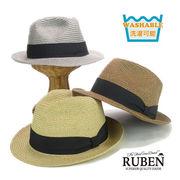 Rubenウォッシャブルポリブレードハット ヤング帽子
