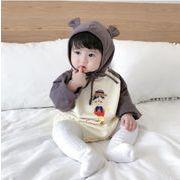 2019秋新作★ベビー赤ちゃん★ロンパース 帽子付き 66cm-100cm
