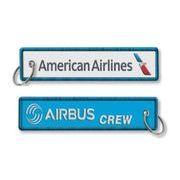 Kool Krew/クールクルー キーチェーン アメリカン 「AIRBUS CREW」