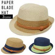帽子 中折れ ハット HAT ペーパー ブレード レディース メンズ キーズ Keys