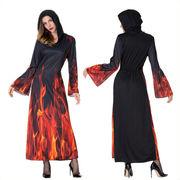 ハロウィン 万聖節 cosplay コスプレ衣装大人  魔女 全1色 悪魔  魔法使い 魔女衣装 万聖節