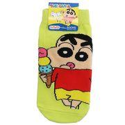 【靴下:キッズ】クレヨンしんちゃん/キッズソックス/アイスクリーム