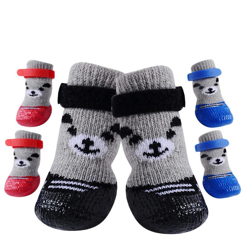犬の靴 ペットシューズ 小・中・大型犬 犬靴 ペット雑貨 ペット用品 防水 防寒 秋冬 暖かい