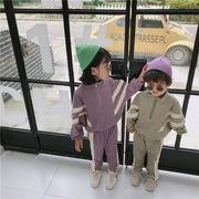 秋季★子供服★ファッション★スウェット★2点セット★カジュアル系★男女兼用 80-130