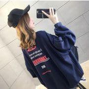 新作 トップス 長袖 スウェット Tシャツ 英文字 プリント 韓国 ファッション