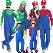 【ハロウィン】家族お揃い Halloween コスプレ衣装 ワンサイズ レディース コスチューム