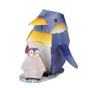 hacomo mini ペンギン ダンボール工作キット No.3228