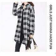 【大きいサイズL-XXL】ファッション/人気ワイシャツ♪ブラック/アカ/ブルー3色展開◆