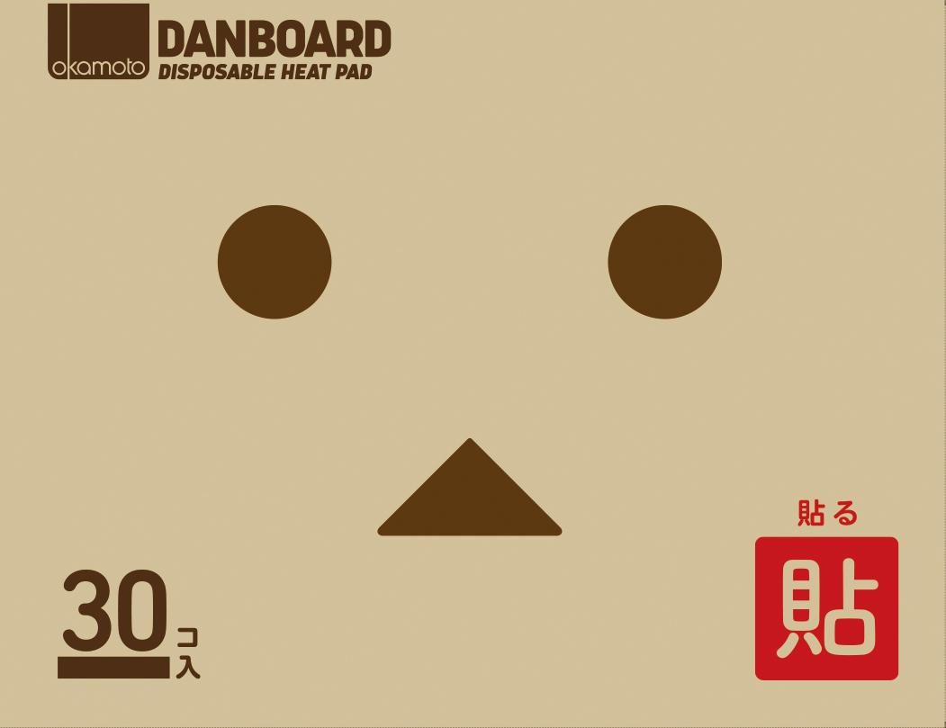 貼るダンボーカイロ レギュラー30P 【 オカモト 】 【 カイロ 】