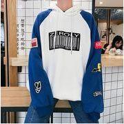 【ペアルックS-5XL】ファッション/人気トップス♪ホワイト/ブラック/アカ3色展開◆