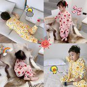 子供服 部屋着 春秋冬 80-125cm オールインワン ファッション 男女兼用 ホームウェア パジャマ