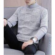 【秋冬新作】ファッション/人気セーター♪ライトグレー/ダークグレー/ブラウン3色展開◆