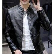 【大きいサイズM-4XL】ファッション/人気ジャケット♪ブラウン/ブラック2色展開◆