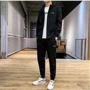 【大きいサイズM-8XL】ファッション/人気/上下セットトップス♪ブラック/ダークグレー2色展開◆