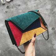 2019新作 バッグ ショルダーバッグ カラーマッチング マット 韓国 ファッション