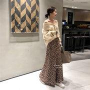 【早秋即納限定SALE!!】韓国ファッション おしゃれな 気質 新品  エレガント ロングスカート