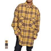 チェックビッグポケットシャツ/sb-500145