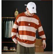 【大きいサイズM-5XL】ファッション/人気セーター♪アカ/ブラック2色展開◆