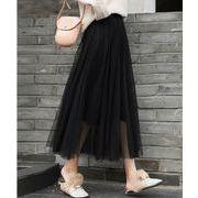 【大きいサイズXL-4XL】ファッション/人気スカート♪グリーン/ブラック2色展開◆