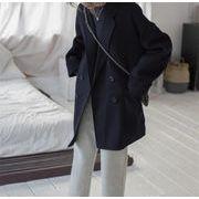 秋季に入る前の準備!カシミア コート 怠惰な風 カジュアル 短いスタイル 2019新作 気質 チェスターコート