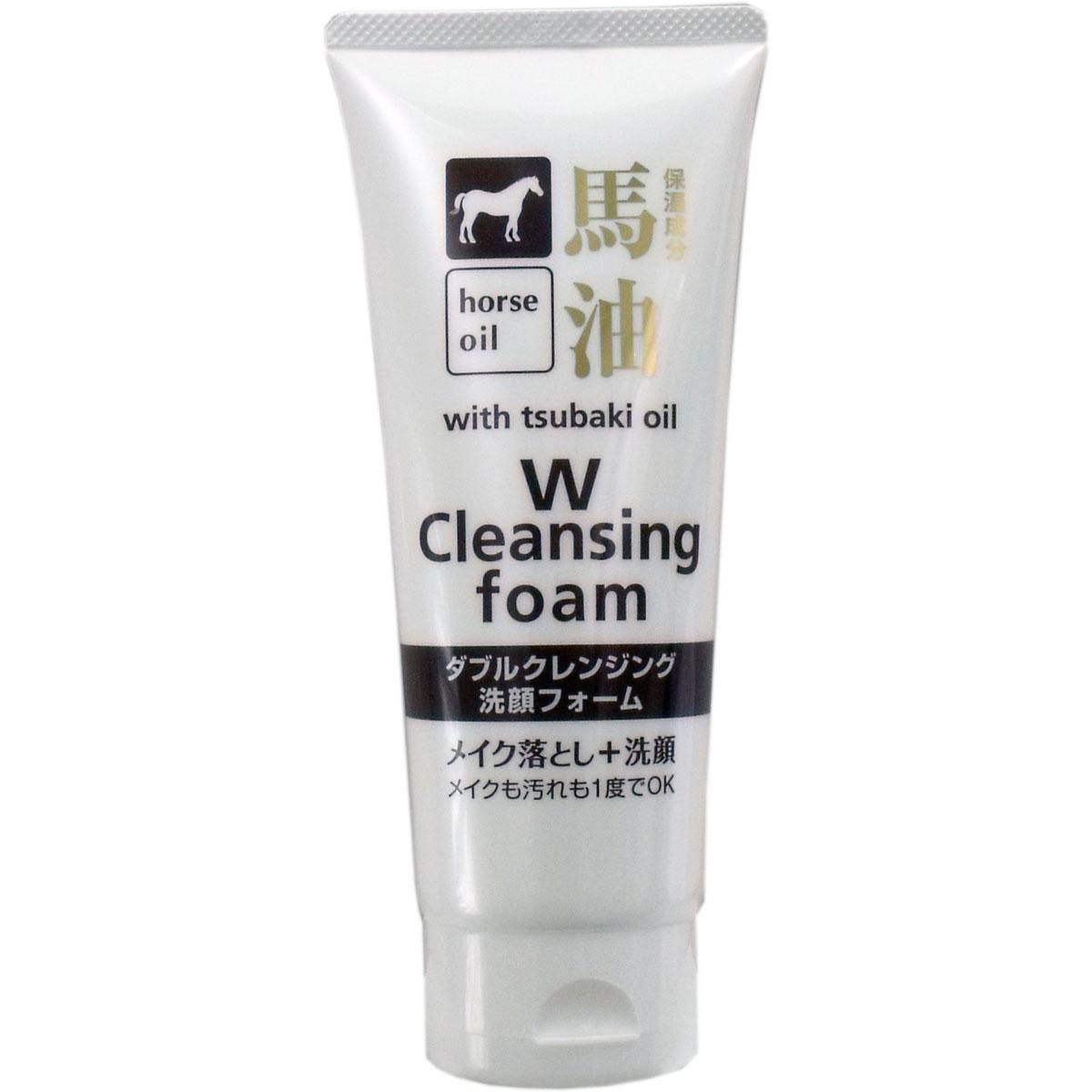 馬油 ダブルクレンジング洗顔フォーム 箱/ケース売 96入