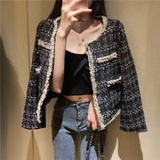 短いスタイル 長袖 女性服 アウターウェア アーリー 秋バージョン 韓国風 光 調理済み