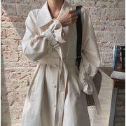 【NEW】トレンチコート★韓国ファッション★コート★アウター★レディース★ベルト★ボタン