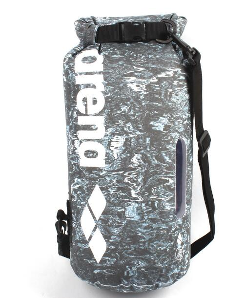 防水バケツ 水泳 旅行 野営 防水バッグ ショルダーバッグ 完全防水 カモフラージュ ドリフトバッグ