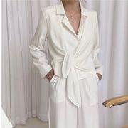 【NEW】2wayジャケット★韓国ファッション★アウター★長袖★上品★大人★シンプル★Vネック