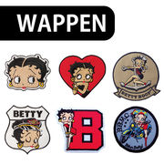 【Betty Boop】ベティちゃん ワッペン パッチ