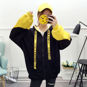 秋冬新作 731561 大きいサイズ 韓国 レディース ファッション  裹起毛  パーカー   LL-4L