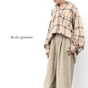【2019新作】ネルチェックビッグシャツ(28869)