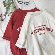 2020新作 トップス Tシャツ 韓国ファッション レディース 学生 オーバーサイズ