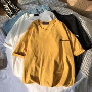 2020新作 トップス Tシャツ 英字プリント レディース 学生 オーバーサイズ
