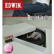 EDWIN 【Bonded Leather】メンズ 2種アソート ビジネスにもオフにも使えるベーシックカラー