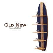 【Old New】ウッデン サーフ シェルフ5★