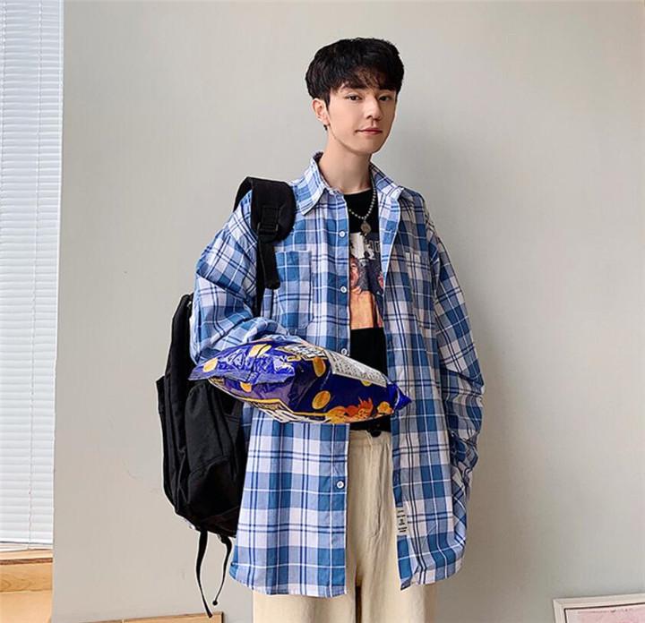 INSスタイル チェック柄 小さい新鮮な シャツ 長袖 ゆったりする コート 潮 秋トップス 美しい  カレッジ風