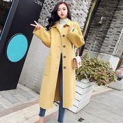 全4色 2019秋冬 韓国 ロングコート サイズ豊富 ジャケット アウター コート