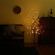 LEDブランチツリー ブラック 120cm