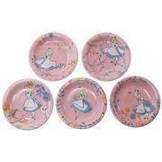 【食器セット】ふしぎの国のアリス 小皿5枚セット D-AL13