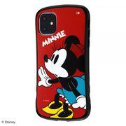 iPhone 11 ディズニーキャラクター/耐衝撃ケース Curve/ミニー