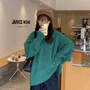 ルース プルオーバー 女 秋冬 新しいデザイン 韓国風 ネット レッド 何でも似合う ア